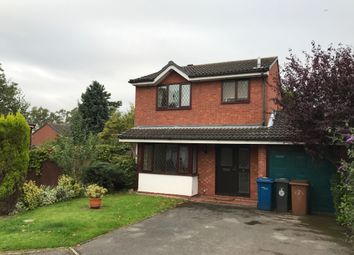 Thumbnail 3 bed detached house to rent in The Woodlands, Lichfield
