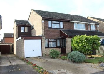 Thumbnail 3 bed semi-detached house for sale in Rides Court, Moulton, Northampton