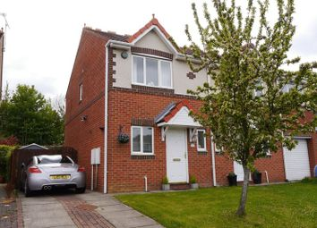 2 bed semi-detached house for sale in Silverdale Road, Cramlington NE23