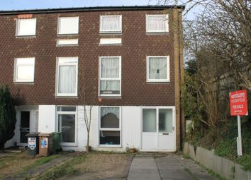 Thumbnail 4 bedroom end terrace house for sale in Trowbridge Gardens, Luton, Bedfordshire