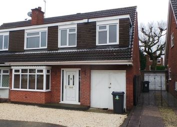 Thumbnail 5 bed semi-detached house for sale in Brailes Drive, Sutton Coldfield, West Midlands