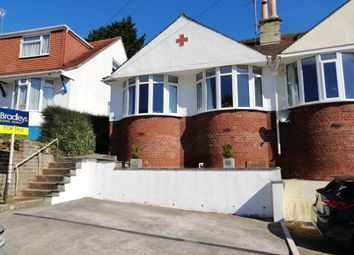 Thumbnail 2 bed semi-detached bungalow for sale in Clifton Road, Paignton, Devon