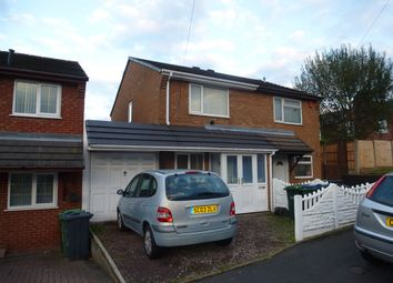 Thumbnail 2 bedroom semi-detached house for sale in Nelson Street, West Bromwich