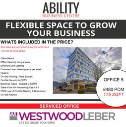 Thumbnail Serviced office to let in West Square, Harlow