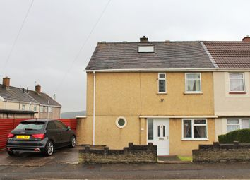 Thumbnail 2 bedroom semi-detached house for sale in Penderry Road, Penlan, Swansea