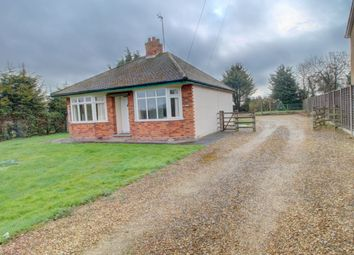 Thumbnail 2 bed bungalow for sale in Church Lane, Stibbington, Peterborough