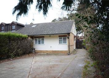 Thumbnail 3 bed semi-detached bungalow for sale in Barkham Ride, Finchampstead, Wokingham