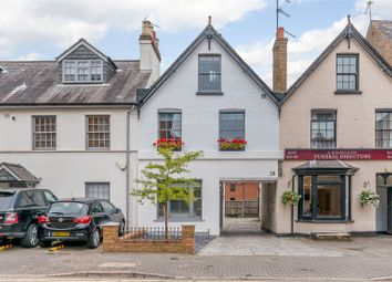 Thumbnail 4 bed terraced house for sale in Marlborough Road, St. Albans, Hertfordshire
