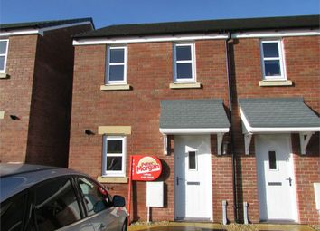 Thumbnail 2 bed semi-detached house to rent in Heol Waungron, Carway, Kidwelly, Llanelli, Carmarthenshire