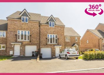 Thumbnail 3 bed terraced house for sale in Elgar Avenue, Newport