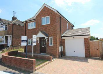 Thumbnail 3 bed detached house for sale in Chesford Road, Luton, Bedfordshire