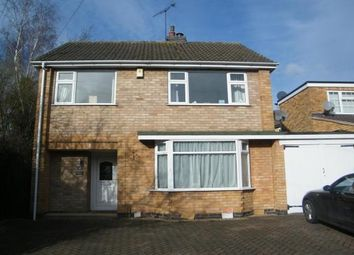 Thumbnail 3 bed detached house to rent in Waldron Drive, Oadby