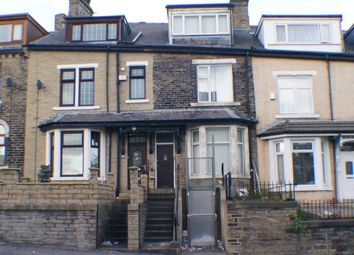 Thumbnail 4 bedroom terraced house to rent in Whetley Hill, Bradford