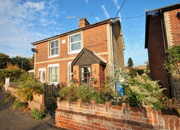 Thumbnail 2 bed semi-detached house for sale in Bergholt Road, Brantham, Manningtree