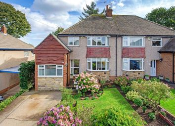Thumbnail 3 bed semi-detached house for sale in Croft Way, Menston, Ilkley
