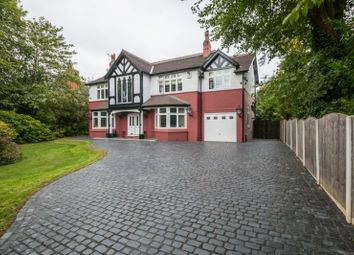 Thumbnail 6 bed detached house for sale in Hawley Lane, Hale Barns, Altrincham