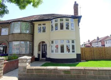 Thumbnail 3 bed semi-detached house for sale in Leyfield Road, West Derby, Liverpool