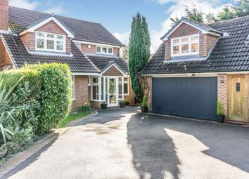 Thumbnail 5 bed detached house for sale in Maybridge Drive, Solihull