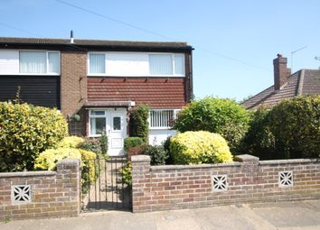 Thumbnail 3 bed terraced house for sale in Grange Road, Felixstowe