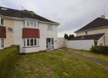 Thumbnail 3 bed semi-detached house for sale in Torridge Avenue, Shiphay, Torquay, Devon
