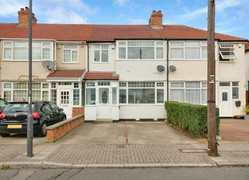 Thumbnail 3 bed terraced house to rent in Millais Gardens, Edgware