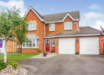 Thumbnail 4 bed detached house for sale in Pershore Way, Lincoln