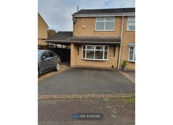 Thumbnail 2 bed semi-detached house to rent in Freesland Rise, Nuneaton