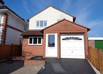 Thumbnail 4 bed detached house to rent in Queens Road, St. Thomas, Exeter