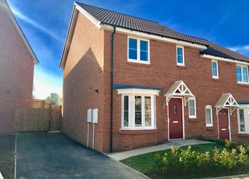 Thumbnail 3 bed semi-detached house for sale in Fairway Meadows, Ullesthorpe, Lutterworth