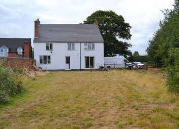Thumbnail 3 bed detached house for sale in Hall Lane, Lichfield
