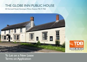 Thumbnail Pub/bar to let in The Globe Inn Public House, Hanslope, Milton Keynes