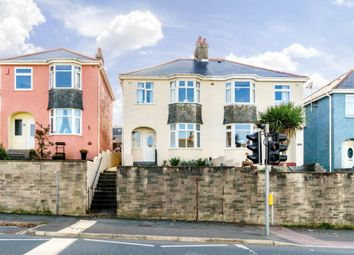 Thumbnail 3 bed semi-detached house for sale in North Road, Saltash, Cornwall