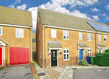 Thumbnail 2 bed end terrace house for sale in Heron Way, Benwick, March