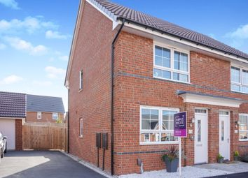 Thumbnail 2 bed semi-detached house for sale in Bullfinch Close, East Leake