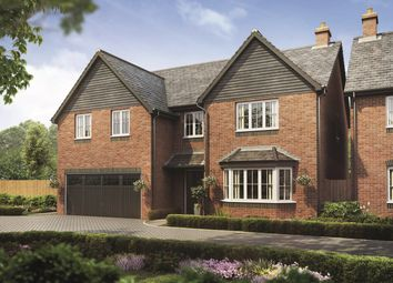 Thumbnail 5 bed detached house for sale in Bramshall Road, Bramshall, Uttoxeter