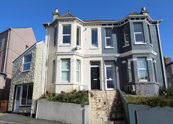 Thumbnail 4 bed terraced house for sale in Two Self Contained Flats, Hyde Park Road, Plymouth