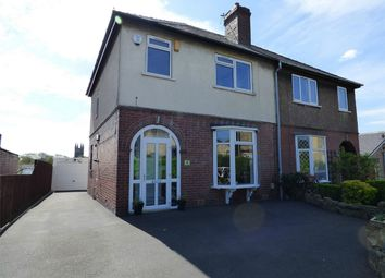 Thumbnail 3 bed semi-detached house for sale in Flash Lane, Mirfield