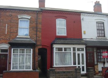 Thumbnail 2 bed terraced house to rent in Willmore Road, Perry Barr, Birmingham