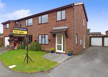 Thumbnail 3 bed semi-detached house to rent in Randle Bennett Close, Elworth, Sandbach