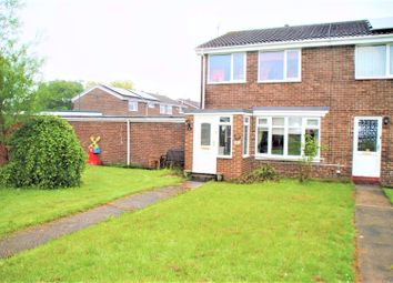 Thumbnail 3 bed semi-detached house for sale in Leicester Way, Jarrow