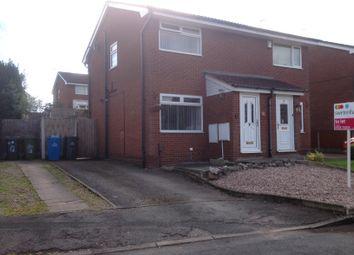 Thumbnail 2 bed semi-detached house to rent in Talisman Close, Murdishaw, Runcorn