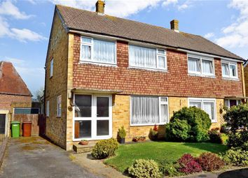 Thumbnail 3 bed semi-detached house for sale in Pound Field, Sandhurst, Kent