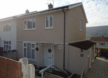 Thumbnail 3 bed semi-detached house to rent in Capel Newydd Avenue, Blaenavon, Pontypool