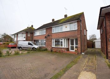 Thumbnail 3 bed semi-detached house for sale in Howard Avenue, Aylesbury