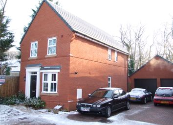 Thumbnail 3 bed detached house for sale in Franklin Road, Saxmundham, Suffolk