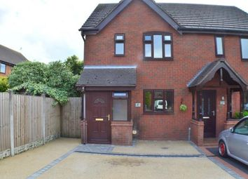 Thumbnail 2 bed end terrace house for sale in Peak Close, Off Shropshire Brook Road, Armitage, Staffordshire