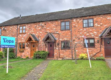 Thumbnail 2 bed terraced house for sale in Leyfields Farm Mews, Anslow, Burton-On-Trent
