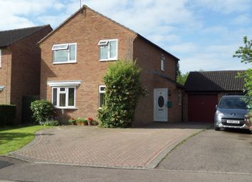 Thumbnail 4 bed detached house for sale in Gainsborough Close, Welland