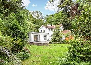 Thumbnail 3 bed detached house to rent in Convent Lane, Burwood Park, Hersham, Walton-On-Thames