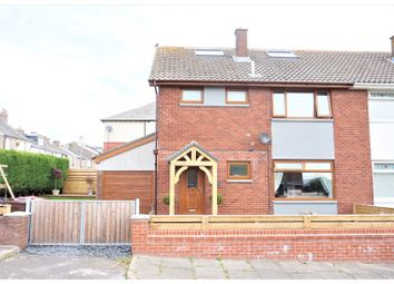 Thumbnail 4 bed semi-detached house for sale in Bideford Gardens, Barrow-In-Furness